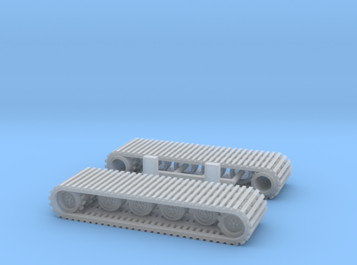 Snowcat Track System 1-87 HO Scale 3d printed