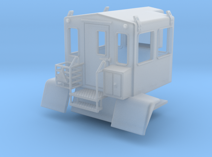 Snowcat Track Machine Personnel Carrier 1-87 HO Sc 3d printed