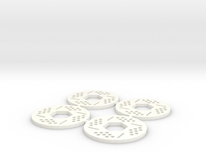 Brake Rotor Set (34mm diameter) 3d printed