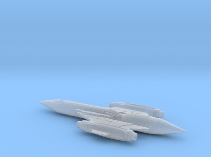 Terran ship Vigilant 3d printed