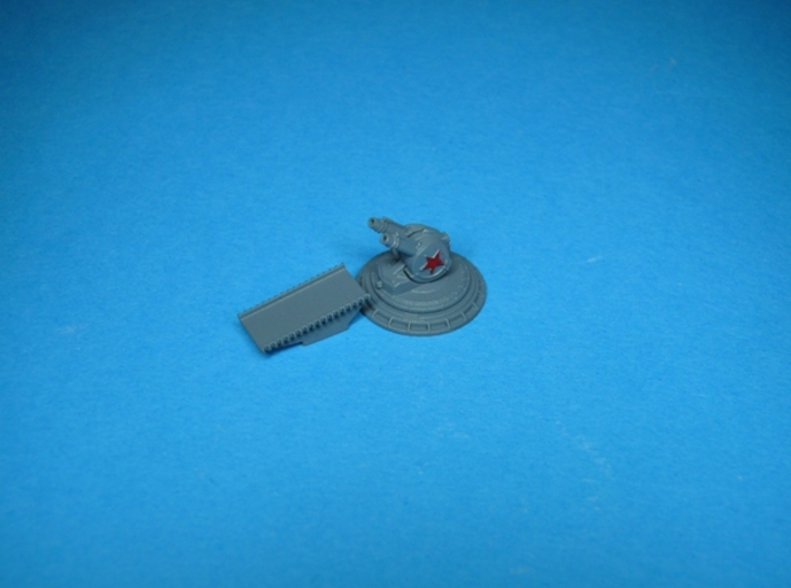 ZIF 121 chaff launcher and hot metal chute 1/100 3d printed