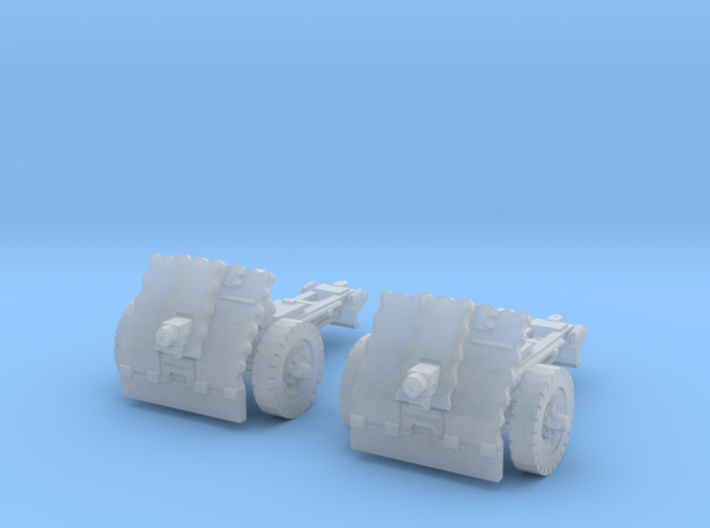 leIG 7,5cm scale 1/87 (2 pieces) 3d printed