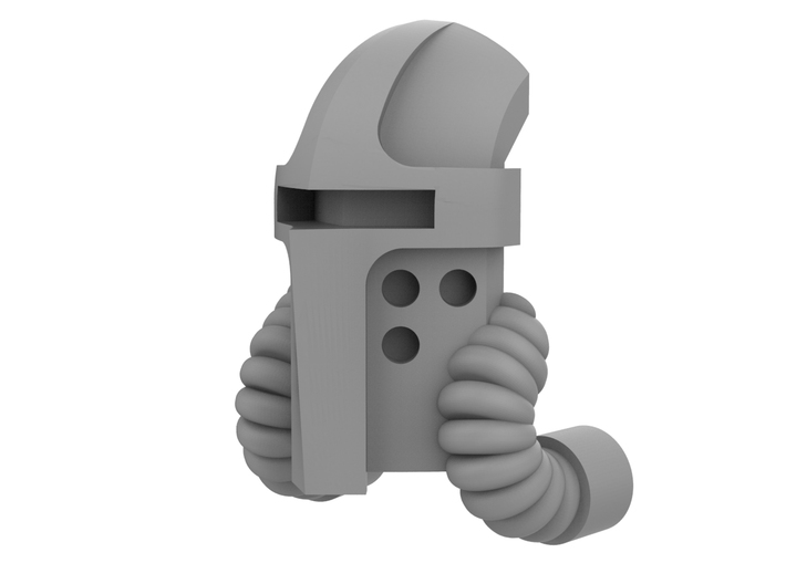 Mini Knight - Executioner Mask 3d printed