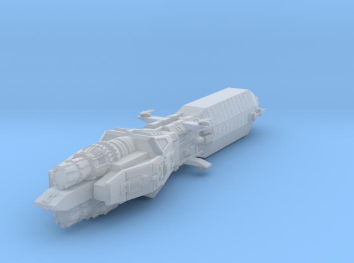 Earth Alliance Sabre Class Frigate 26mm 3d printed