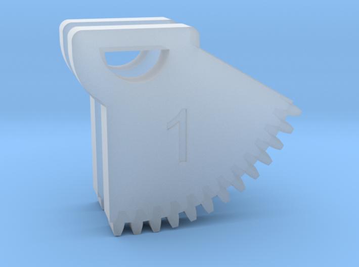 N64 Gear Teeth V1 3d printed