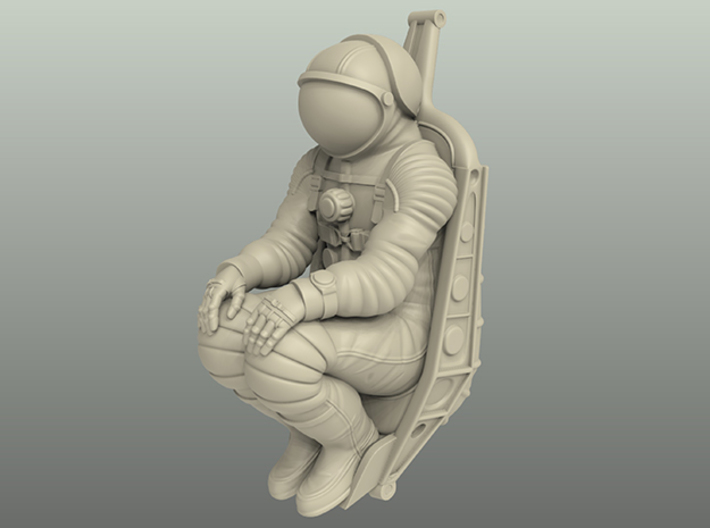 Soyuz Cosmonaut With Seat 1:24 3d printed