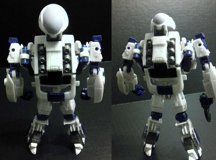 Exosuit Dome For TF FOC JAZZ 3d printed