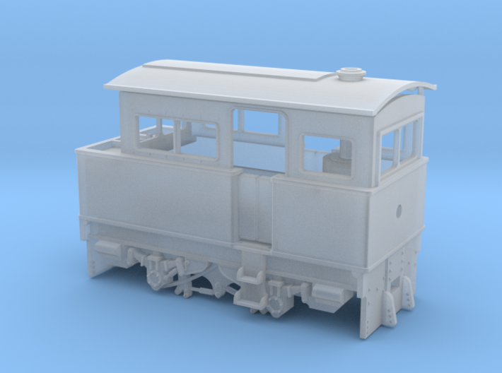 00n3 Atkinson Walker Steam Tractor 3d printed