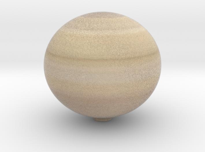Saturn 1:1.5 billion 3d printed