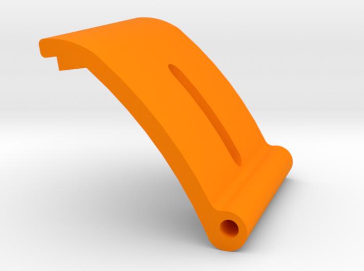 Lok External mast gate plate with slot & Hinge 3d printed