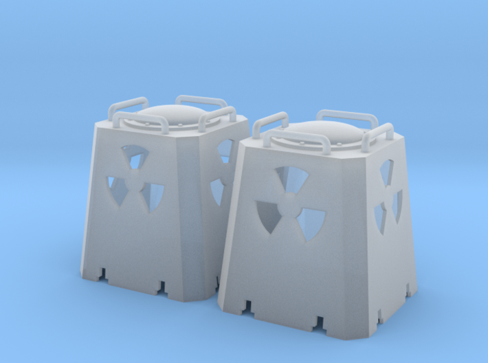 Radioactive Casks - Nscale 3d printed