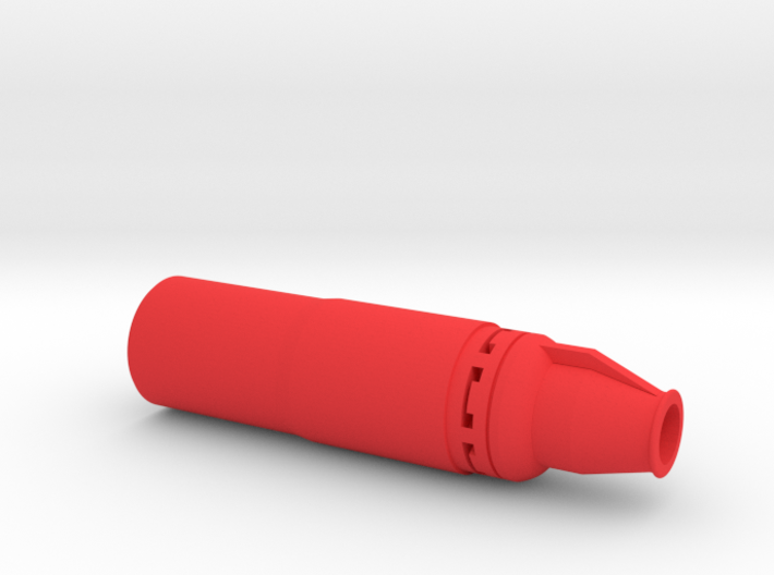 Silent Hitman Sniper Silencer (14mm Self-Cutting) 3d printed