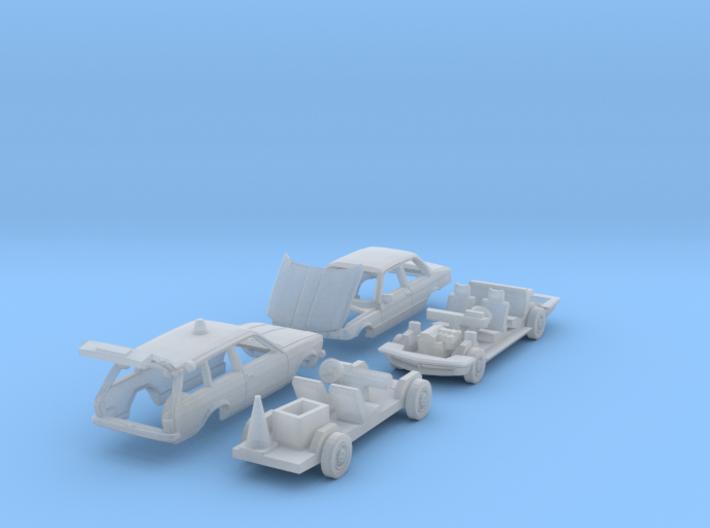 SET Straßenwacht (TT 1:120) 3d printed