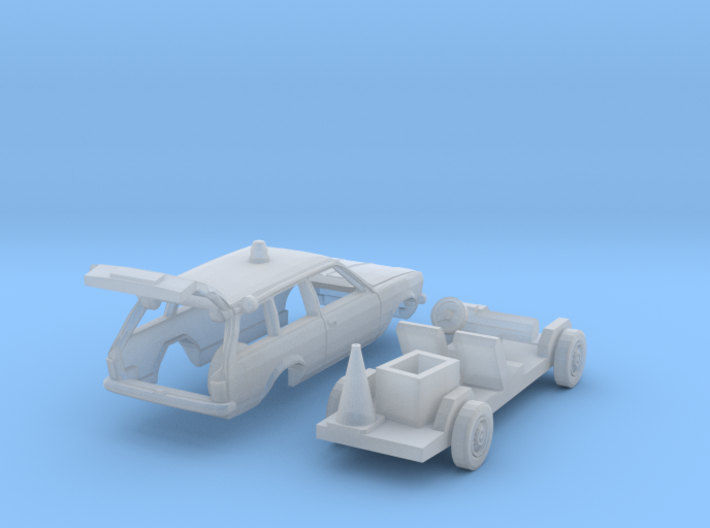 Opel Kadett Straßenwacht (TT 1:120) 3d printed