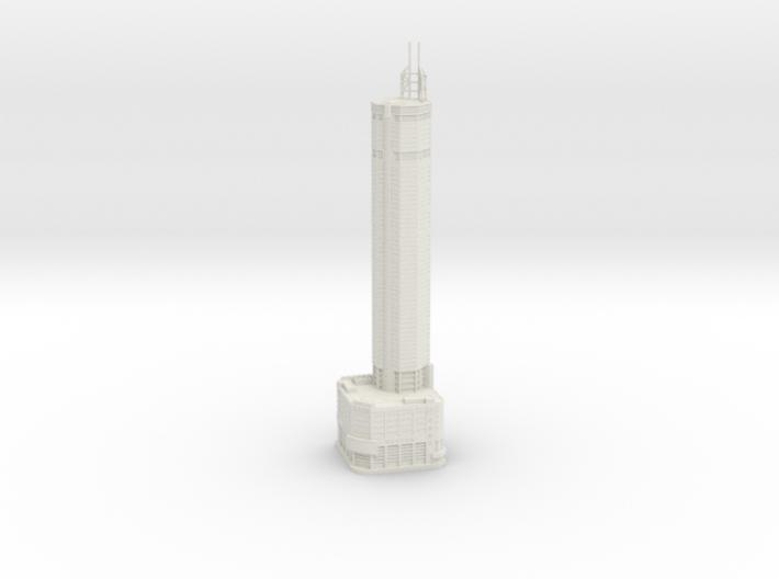 SEG Plaza (1:1800) 3d printed