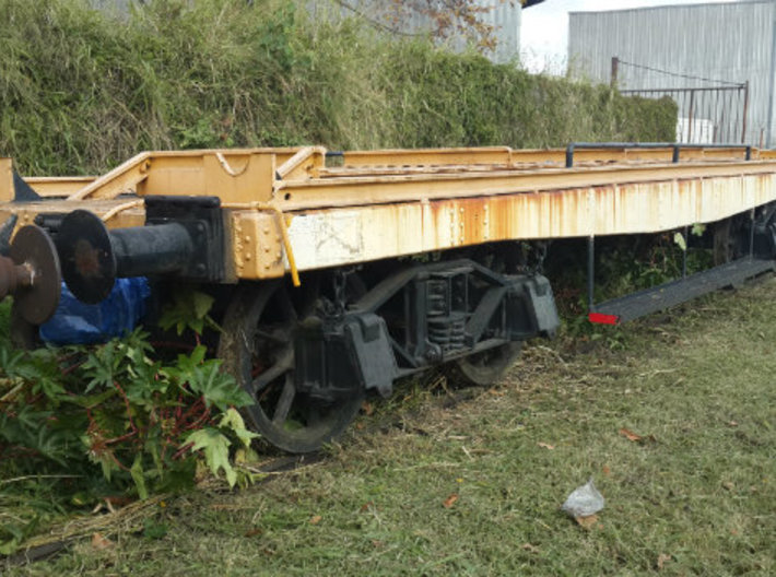 Flat wagon for yard workers use 3d printed