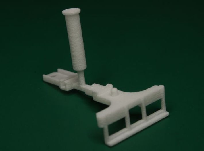 Parts to convert F&C loco to 2-4-0 [set A] 3d printed This is how they arrive, they need separating