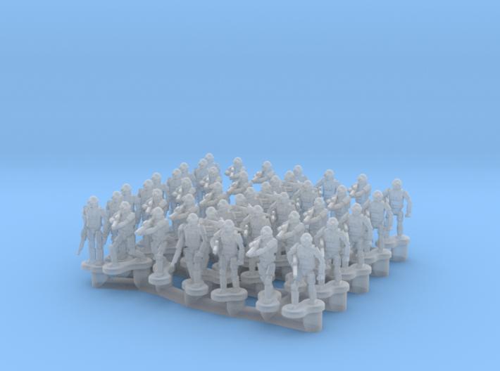 6mm Infantry (38) 3d printed
