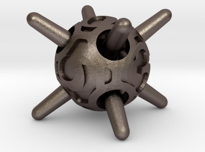 Sputnik Die6 3d printed