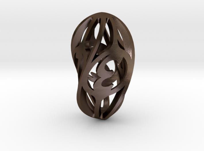 Twisty Spindle Die4 3d printed