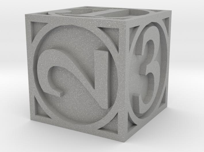 Circle Theme d6 3d printed