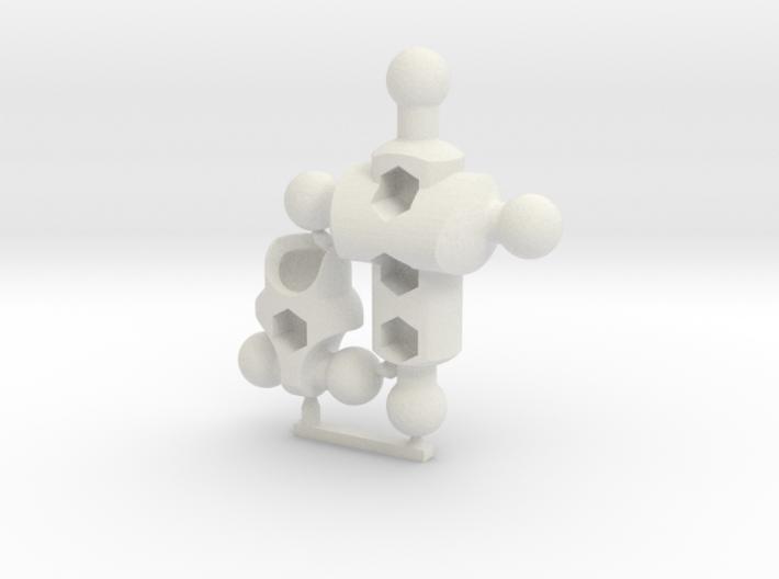 Moli (female) Basic Modifier Kit for ModiBot Mo 3d printed Moli (female) Basic Modifier Kit for ModiBot Mo