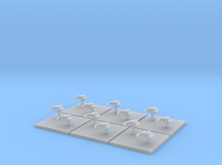 Assault Boats (6) (Tall) 3d printed