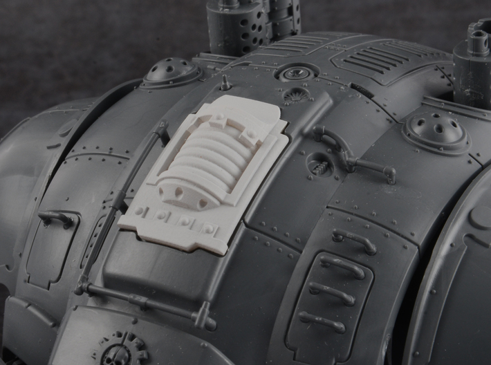 Plasma Coil - Carapace Hatch 3d printed