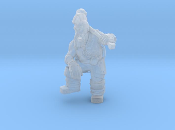 Dwarf Fighter 3d printed