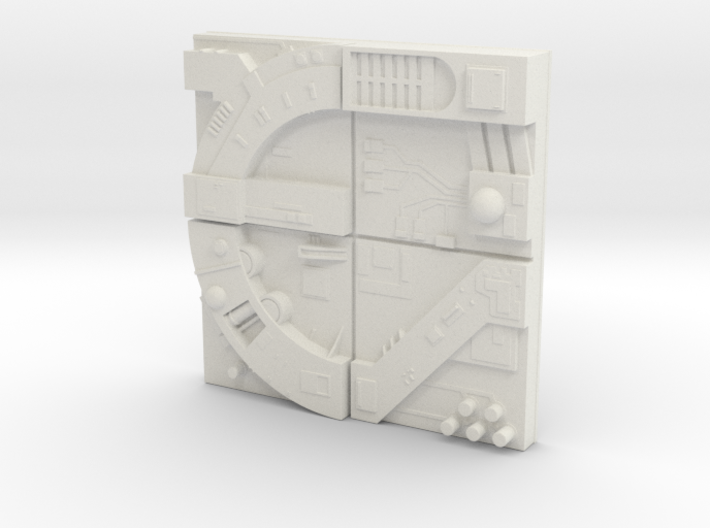 tile_deathstar_16 3d printed