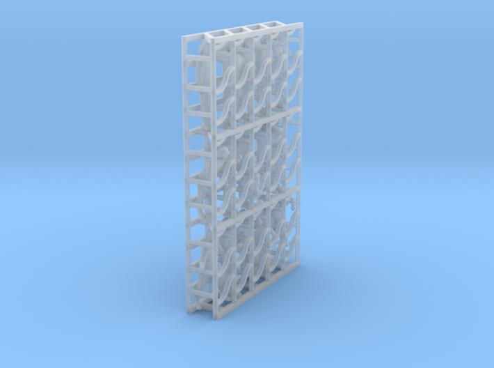 1/144 Mod Unif MICH Set501 3d printed