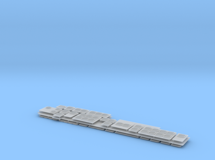 1/96 USS Independence LCS 2 - Vents sets 3d printed