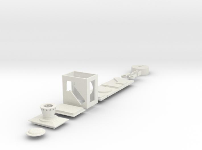 Weichenlaterne DR Links Stellhebel 3d printed