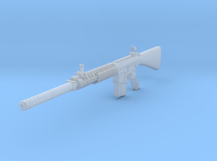 1/10th MK11 with suppressor 3d printed