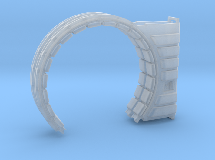 DeAgo Falcon Corridor - Turret Junction and Ring 3d printed