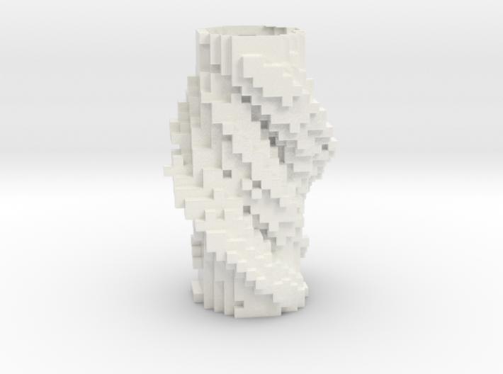 Cubic Vase 1232 3d printed
