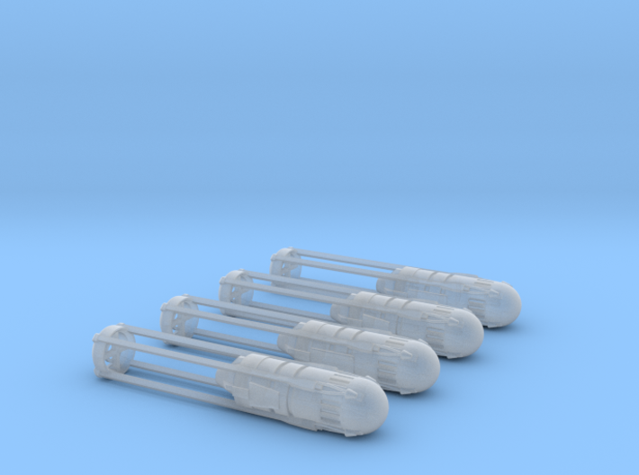 Engines style 5 pack 270th 3d printed