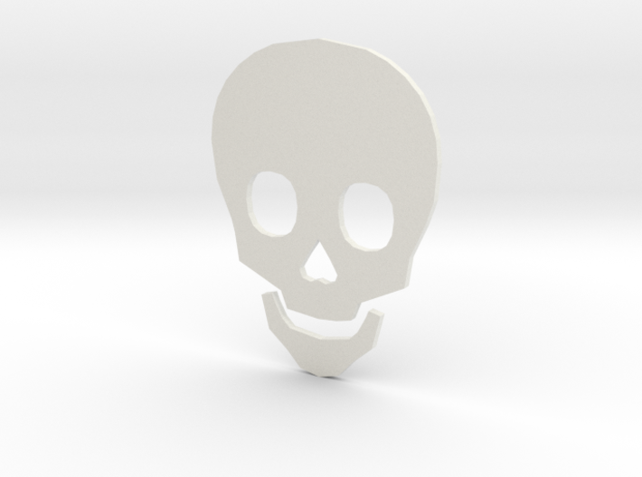 Time to Die Skull 3d printed