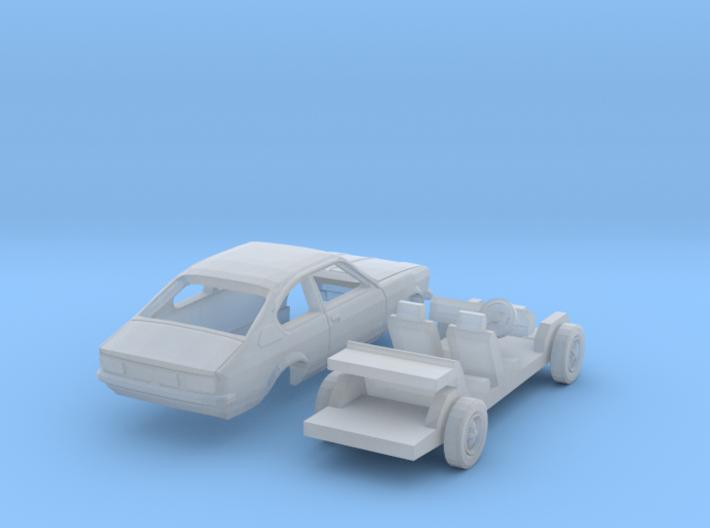 Opel Kadett Coupé (British N 1:148) 3d printed
