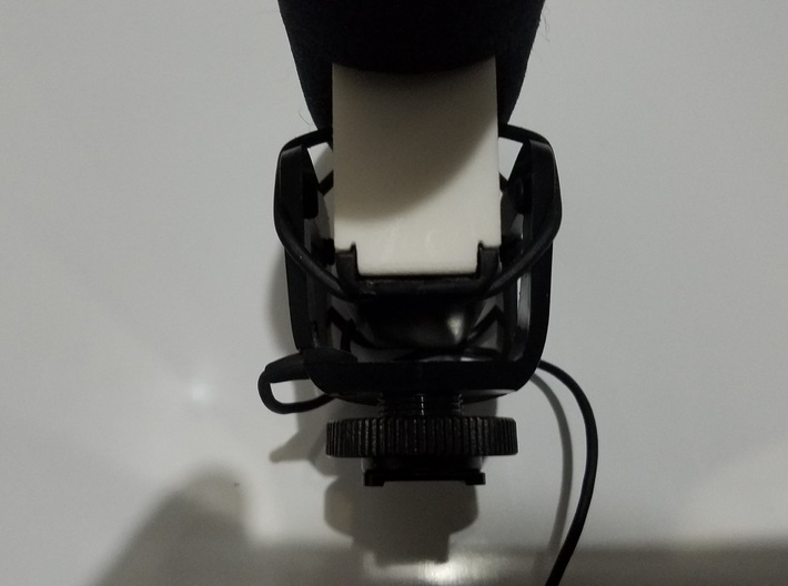 Rode VideoMic Pro Microphone Replacement Battery C 3d printed White Natural Versatile Plastic