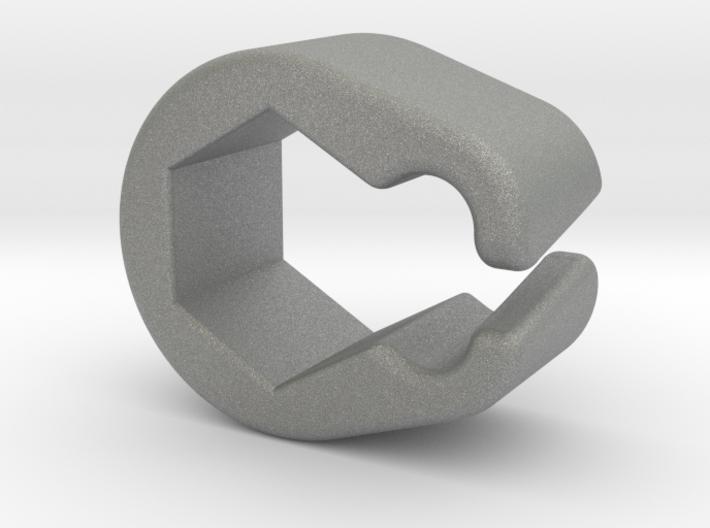 Pinball Hexagonal Post Cable Restraint (V4) 3d printed