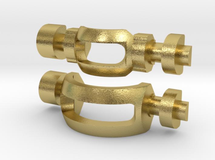 N64 Brass Gear Slots(3.40mm) 3d printed