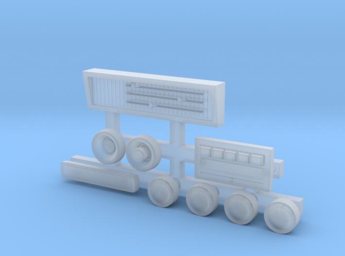 RCN078 Dashboard elements for Vaterra K10 3d printed