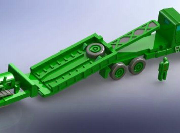 Faun 912/5050 Dumper with Dozer KHD 60 1/285 6mm 3d printed Add a caption...
