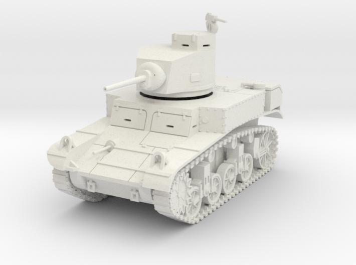 PV27 M3 Stuart Light Tank (1/48) 3d printed