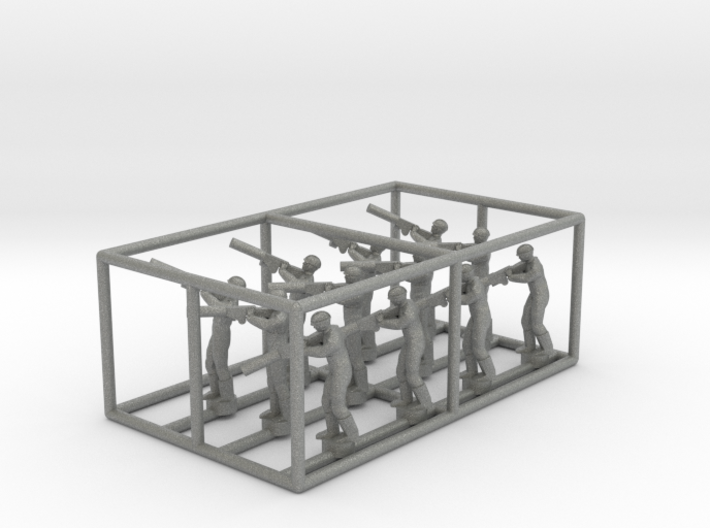 1/144 Standing Observers (Central Powers) 3d printed