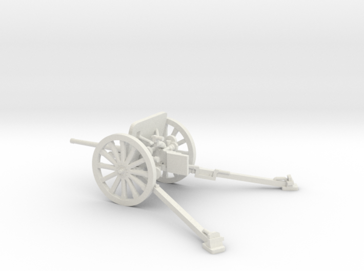 1/48 IJA Type 94 37mm Anti-tank Gun 3d printed
