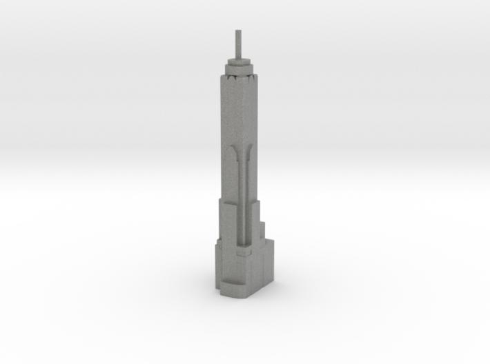 Baiyoke Tower II - Bangkok (1:4000) 3d printed