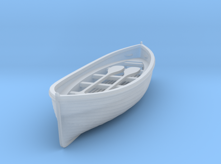 S Scale Life Boat 3d printed This is a render not a picture