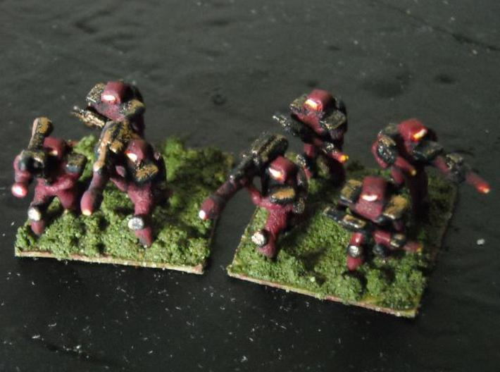 MG144-SYV01 Strayvian Infantry Squad 3d printed